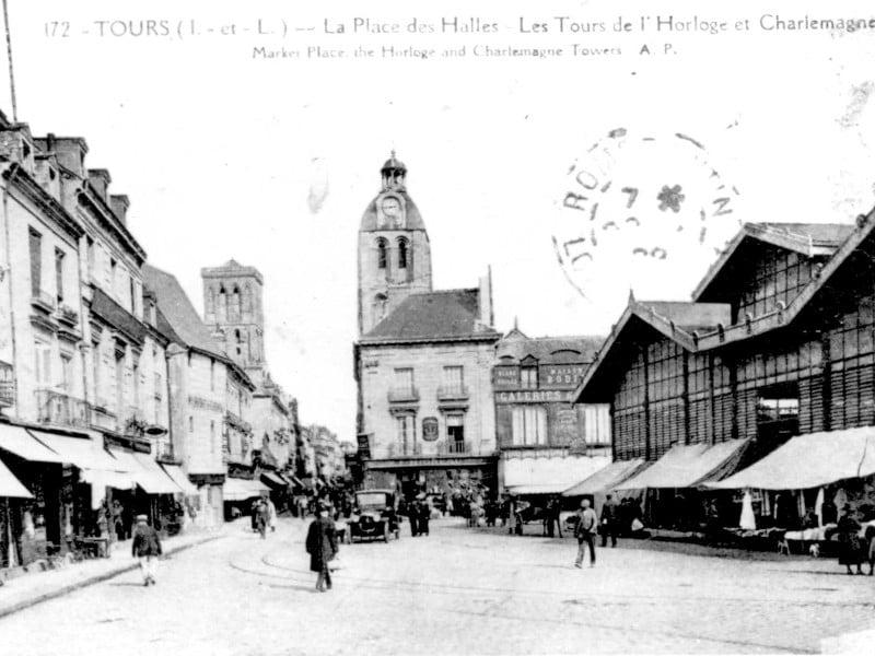 Bâtiment du marché de gros de Tours conçu par Gustave Guérin