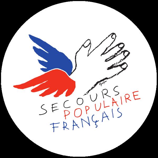 Association Secours Populaire Français et Le Marché de Gros de Tours