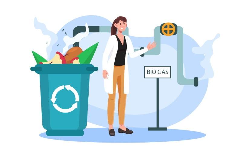 Tri et valorisation des déchets végétaux